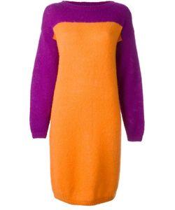 STEPHEN SPROUSE VINTAGE | Вязаное Платье В Стиле Колор-Блок