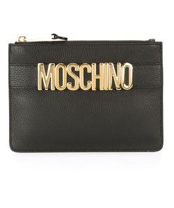 Moschino | Клатч С Бляшкой С Логотипом