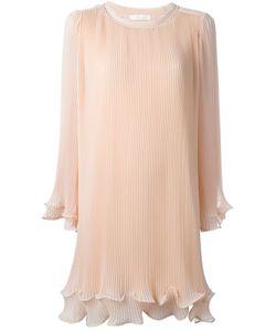 Chloe | Плиссированное Платье С Расклешенными Рукавами