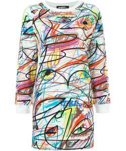 Jeremy Scott | Платье-Толстовка С Графическим Принтом