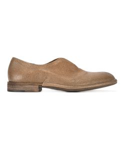 Roberto Del Carlo | Slit Slippers 38.5 Calf Leather/Leather