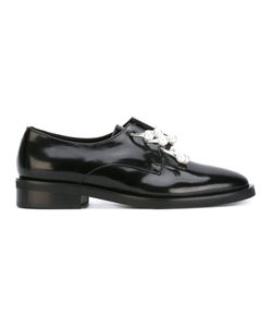 Coliac | Pearl Embellished Formal Shoes Size 41 Calf Leather/Leather/Rubber/Metal