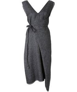ASSIN | Платье С Запахом Асимметричного Кроя