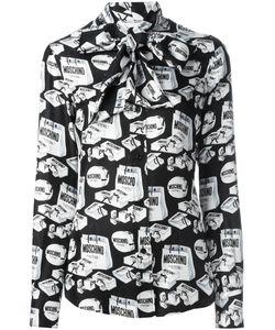 Moschino | Блузка С Принтом Сумок Для Покупок