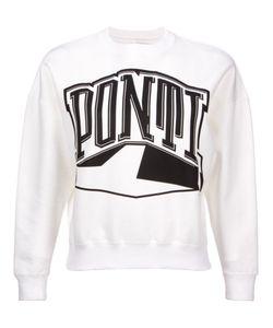 PONTI   Logo Print Sweatshirt