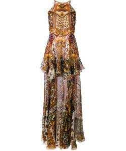 Roberto Cavalli | Print Ruffled Dress