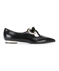 Coliac | Tie Up Pointed Ballerinas Size 36