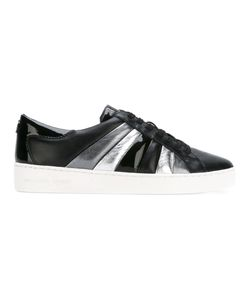 Michael Michael Kors | Panelled Lace-Up Sneakers 39 Leather/Rubber