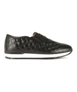 Love Moschino | Quilted Slip-On Sneakers