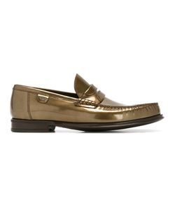 Dolce & Gabbana | Brushed Leather Loafers 40 Calf