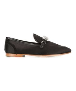 Giuseppe Zanotti Design | Clover Loafers 36 Silk/Leather