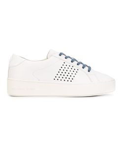 Michael Michael Kors | Lace Up Trainers 6 Leather/Cotton/Rubber