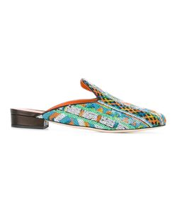 BAMS | Pantofola Mules 40 Cotton/Polyester/Leather