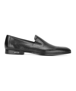 Baldinini | Perforated Slippers 42 Calf Leather/Leather