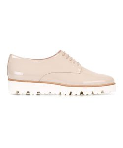 Pretty Loafers | Lace-Up Brogues 38 Leather/Patent Leather/Rubber