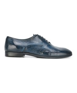 Silvano Sassetti | Casual Derby Shoes 7.5 Leather/Rubber