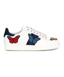 MOA MASTER OF ARTS | Embroidered Butterfly Sneakers