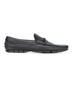 Baldinini | Perforated Loafers 43 Calf Leather/Leather/Rubber