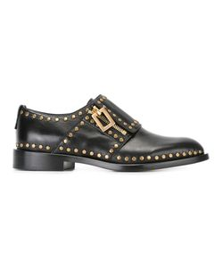 Roger Vivier | Tone Studded Loafers Size 37.5 Leather/Metal Other