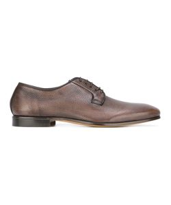Fabi | Grained Derbies 45 Calf Leather/Leather