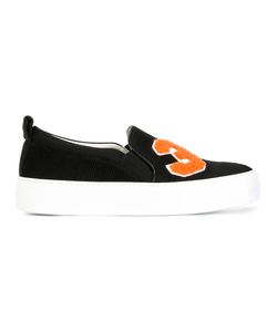 Joshua Sanders | Patch Slip-On Sneakers