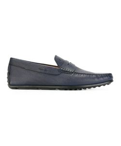 Tod'S | Spider Driving Shoes 6 Calf Leather/Leather/Rubber