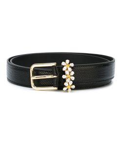 Dolce & Gabbana | Ремень С Ромашками Из Стразов