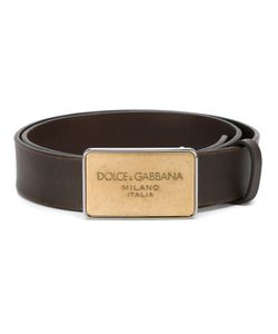 Dolce & Gabbana | Ремень С Бляшкой С Логотипом