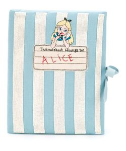 Olympia Le-Tan | Notebook Alice Clutch