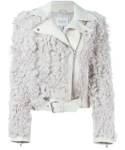 Dagmar | Байкерская Куртка С Отделкой Искусственным Мехом