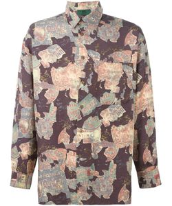 JEAN PAUL GAULTIER VINTAGE   Рубашка С Графическим Принтом