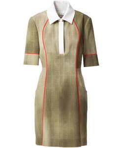 Fendi | Платье С Воротником-Поло