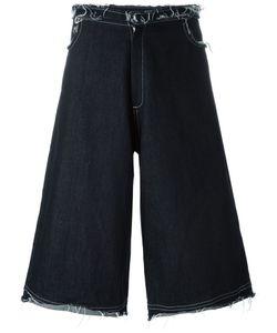 MOW | Frayed Denim Shorts