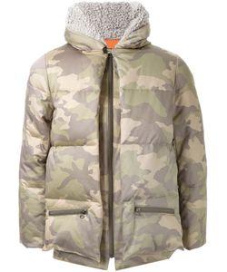 FADTHREE | Camouflage Print Zipped Jacket