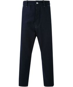 FADTHREE | Pinstripe Cropped Trousers