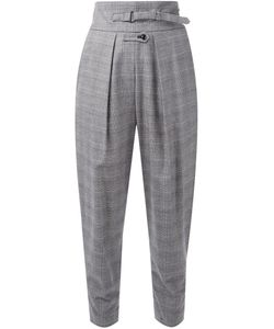 FADTHREE | Checked Cropped Trousers
