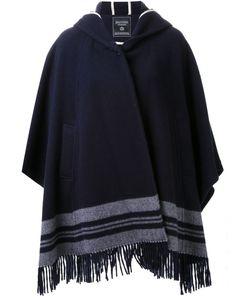 FADTHREE | Hooded Cape Coat
