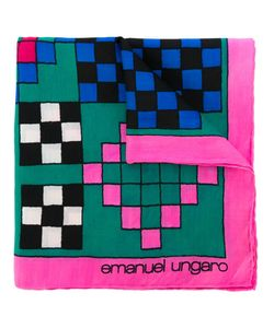 Emanuel Ungaro Vintage | Нагрудный Платок С Узором В Клетку