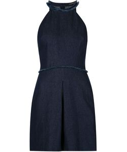 TIMO WEILAND | Джинсовое Платье С Краями С Бахромой