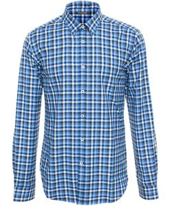 BROWNS | Checked Cotton Shirt
