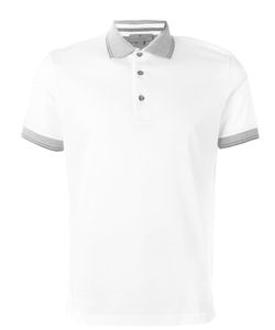 Canali   Contrast Polo Shirt 50