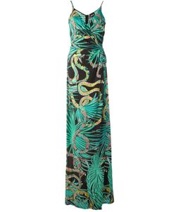 Just Cavalli | Snakeprint Maxi Dress 40 Viscose