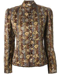 Emanuel Ungaro Vintage | Стеганая Куртка С Цветочным Принтом