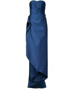 Paule Ka | Длинное Платье Без Бретелек