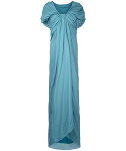 Paule Ka | Длинное Платье С Драпировкой