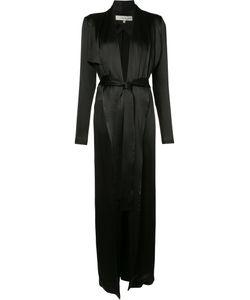 GALVAN | Tie-Waist Silk Jacket Size 38
