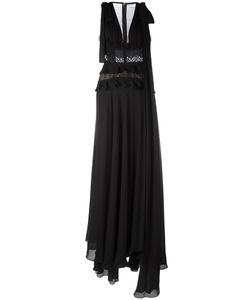 Elie Saab | Fla Evening Dress 36 Silk/Nylon/Polyamide