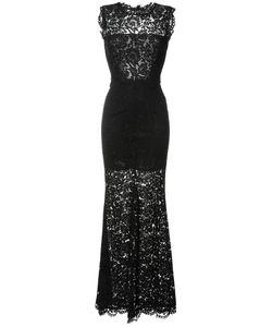 Rachel Zoe | Длинное Платье С Кружевной Отделкой