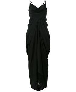 Rick Owens | Oversize Draped Dress 40 Acetate/Silk