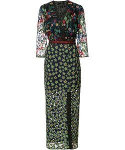 Saloni | Print Dress 2 Polyester